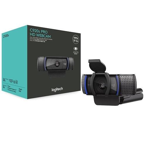 WEBCAM LOGITECH C920S FULL HD 1080p