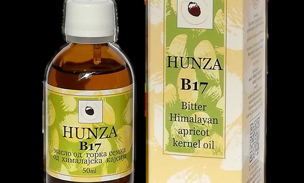 Ulje od gorkih semenki sa B17 50 ml - €22