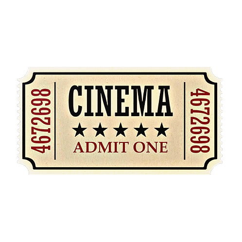 ONE NIGHT ONLY MOVIE TICKET