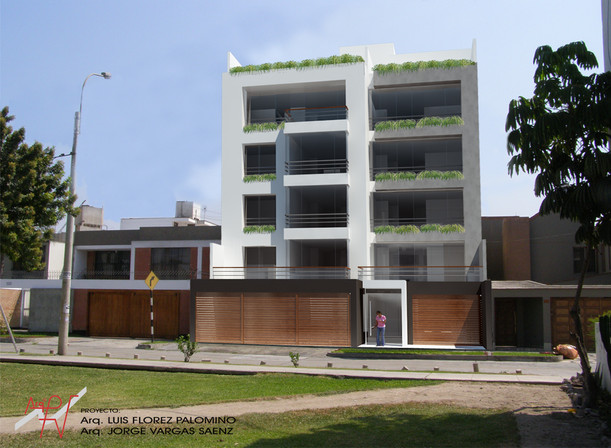 Edificio Villa Carrillo, Surco