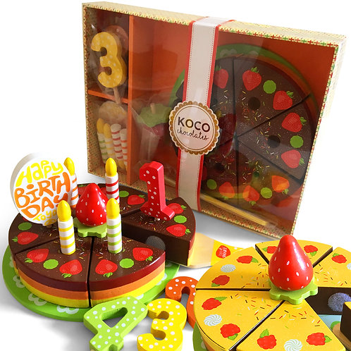 KOCO Wooden Celebration Cake