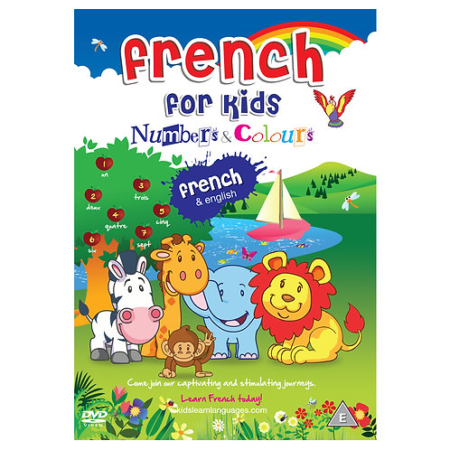 French for Kids Numbers & Colours