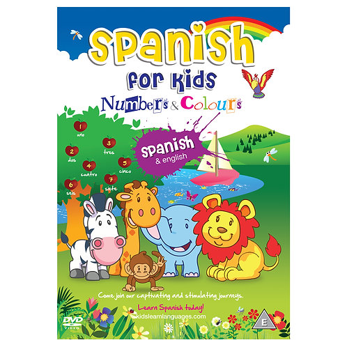 Spanish for Kids Numbers & Colours
