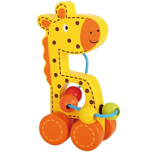Giraffe Push Along Bead Maze