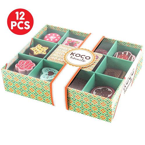 KOKO Wooden Biscuit Selection Box