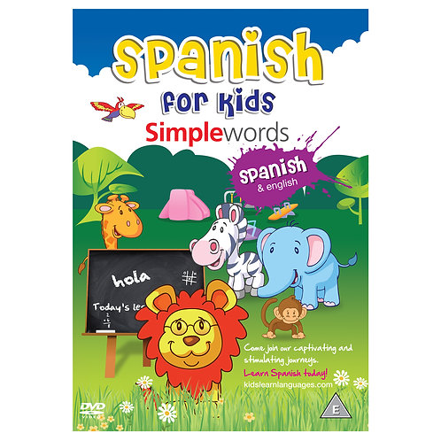 Spanish for Kids Simple Words