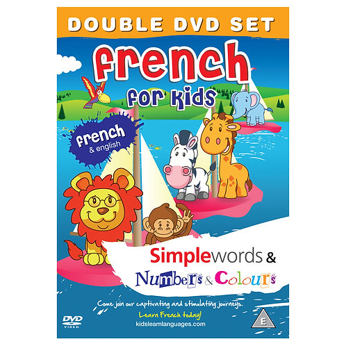 French for Kids Double DVD Set