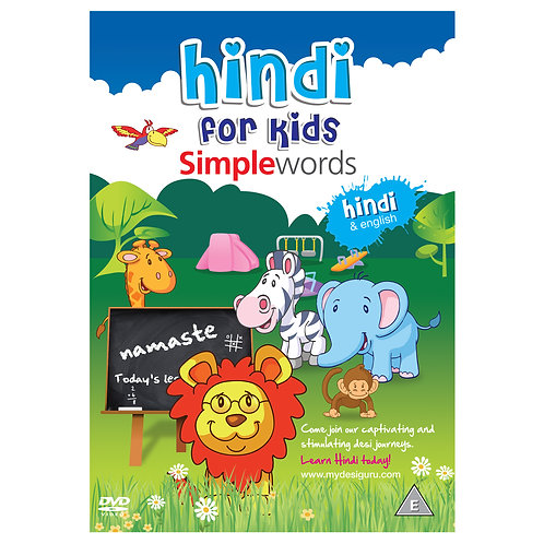 Hindi for Kids Simple Words