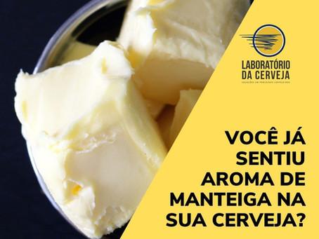 Você já sentiu aroma de manteiga na sua cerveja?