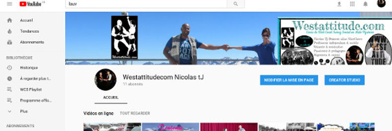 NicoChoco sur You Tube