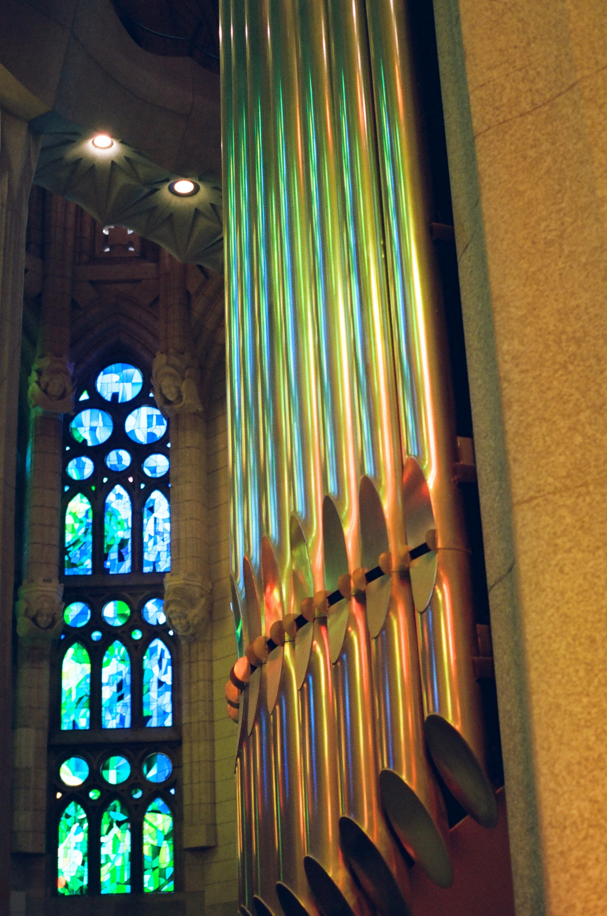 Pipes - Sagrada Familia, Barcelona