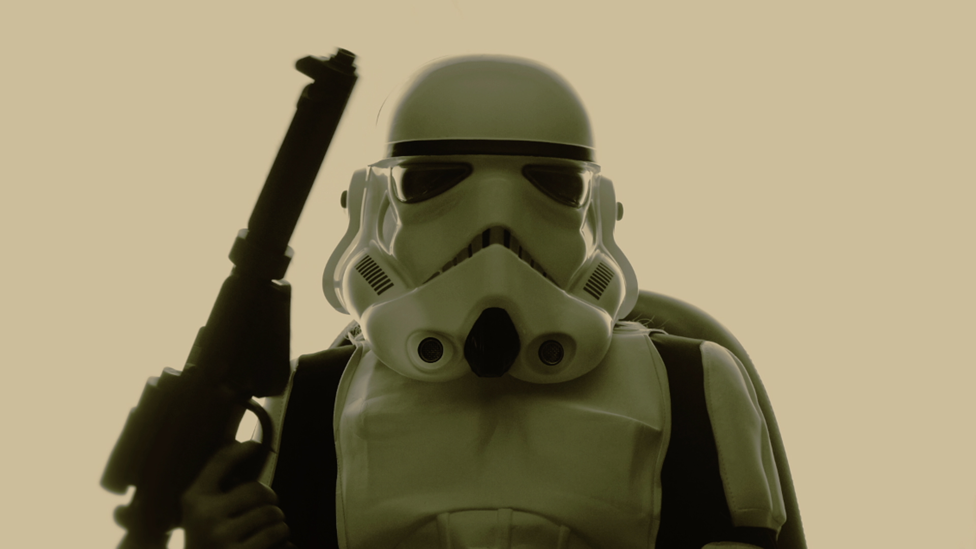 Ashley as Stormtrooper - Los Angeles