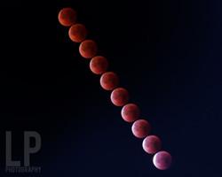 Super Blue Blood Moon - Time Lapse