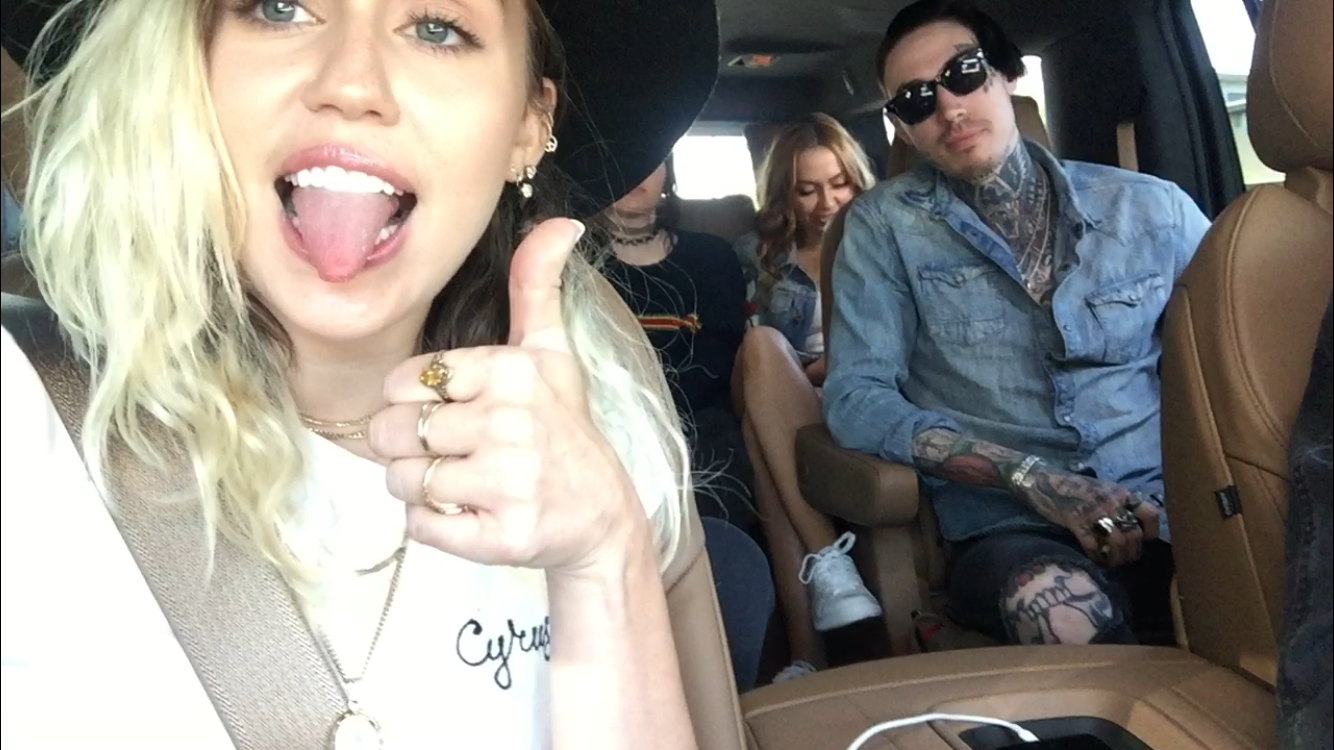 Miley & Family - Los Angeles, CA