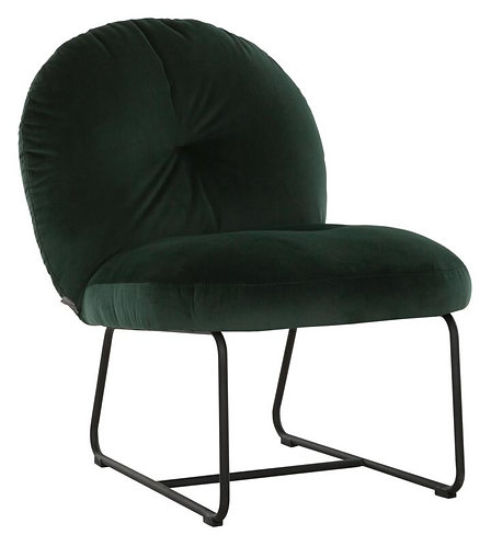 MUST LIVING, Lounge Chair Bouton smooth hunter