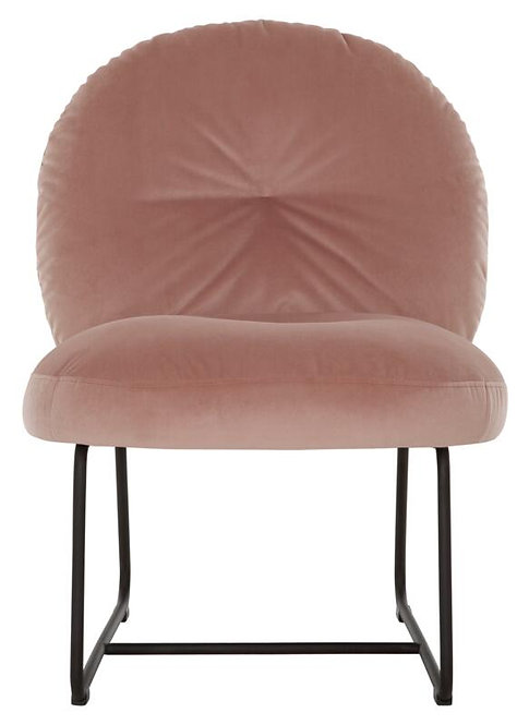 MUST LIVING, Lounge Chair Bouton smooth smooth pink