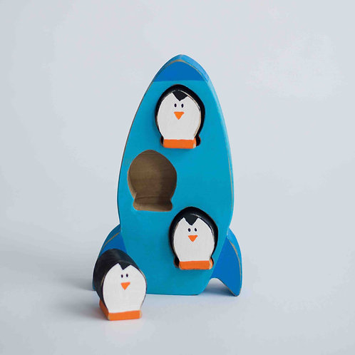 Penguin Rocketship