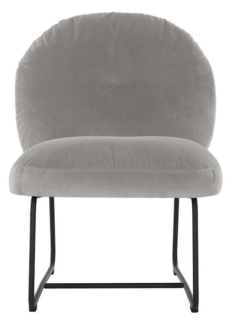 MUST LIVING, Lounge Chair Bouton smooth slate grey