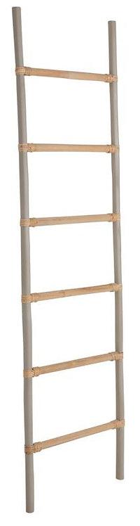 MUST LIVING, Rattan ladder Light Grey