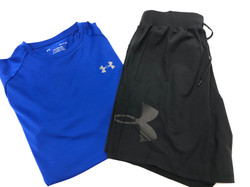 Under Armour Short Sleeve and Shorts