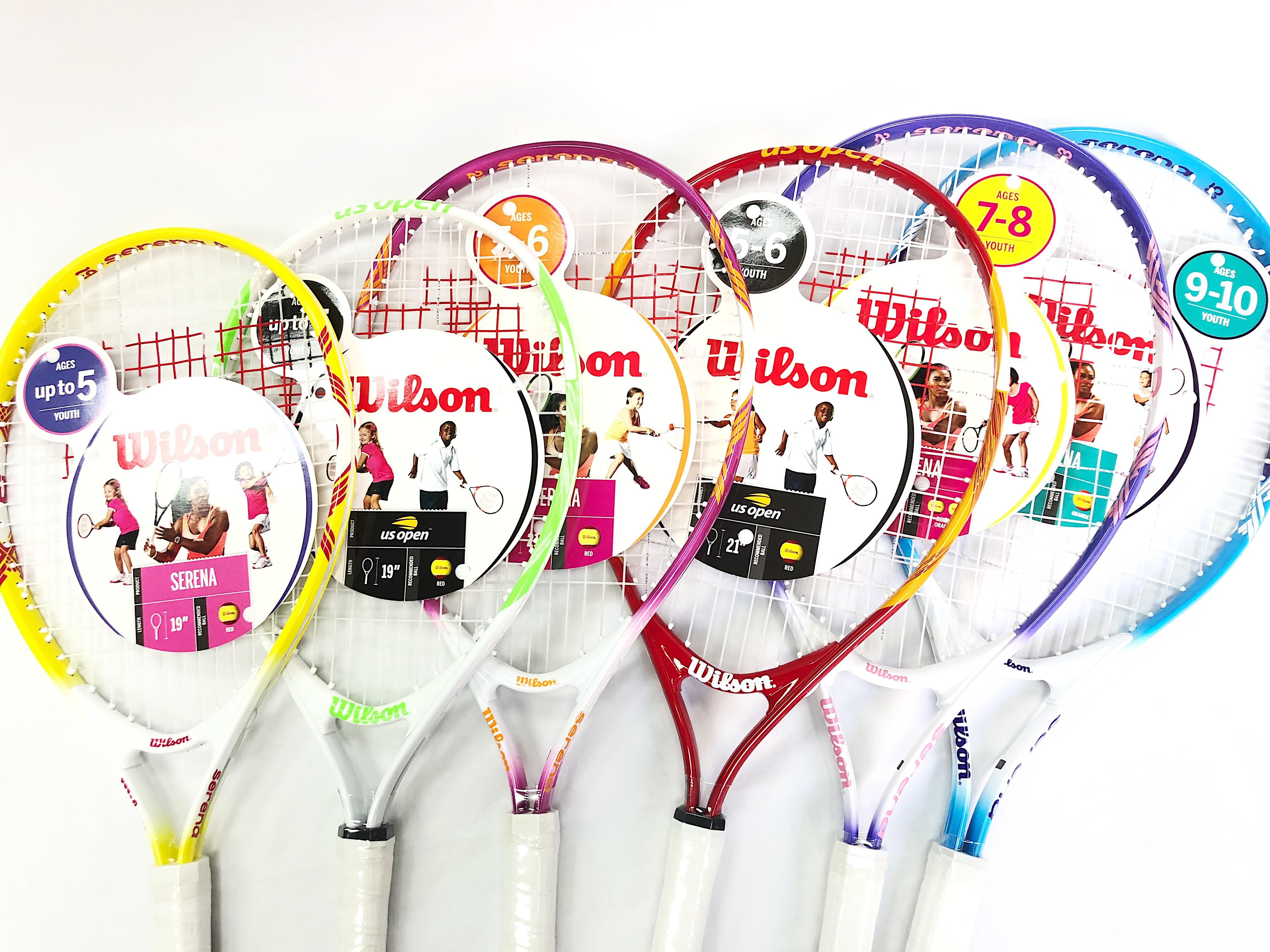 Wilson Tennis Rackets (Kid's)