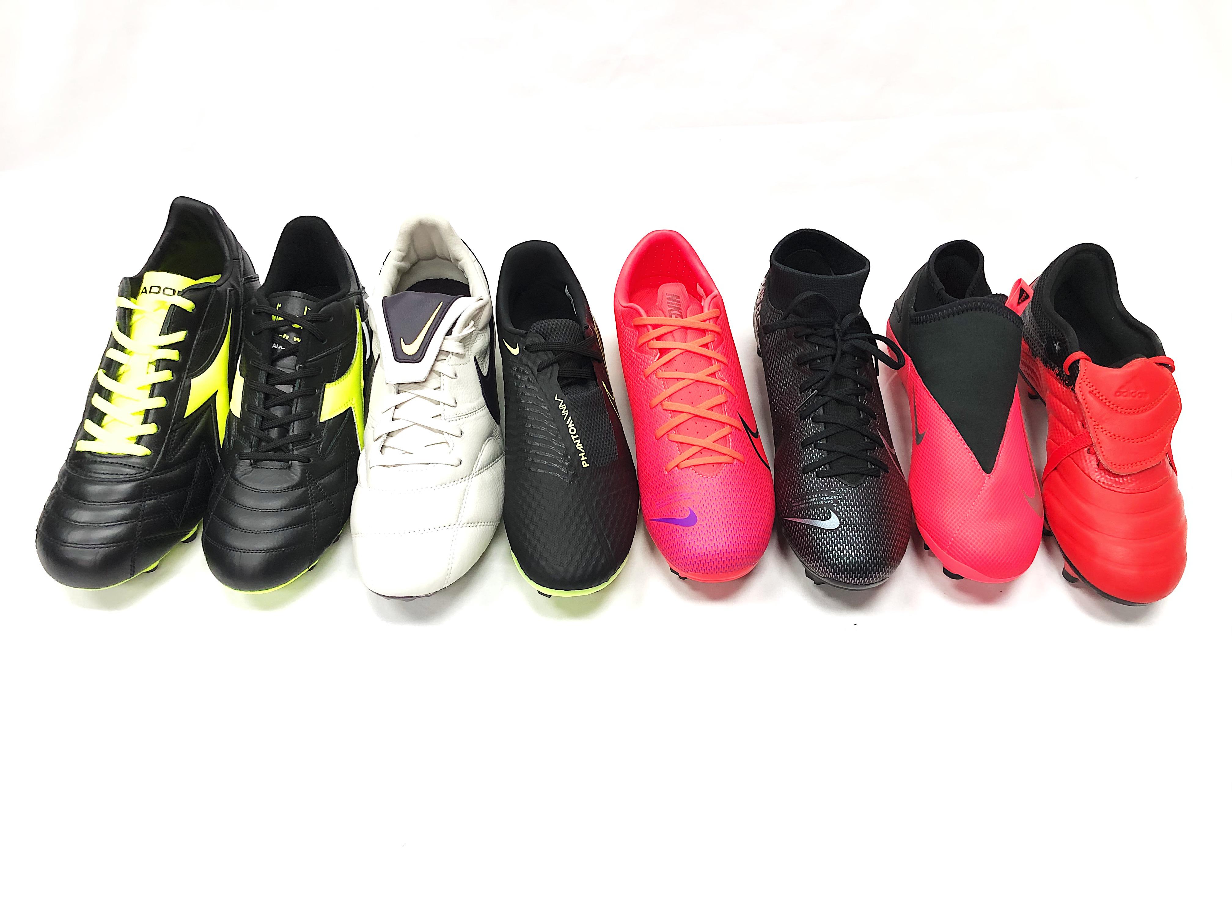 Diadora, Nike & Adidas Soccer Cleats