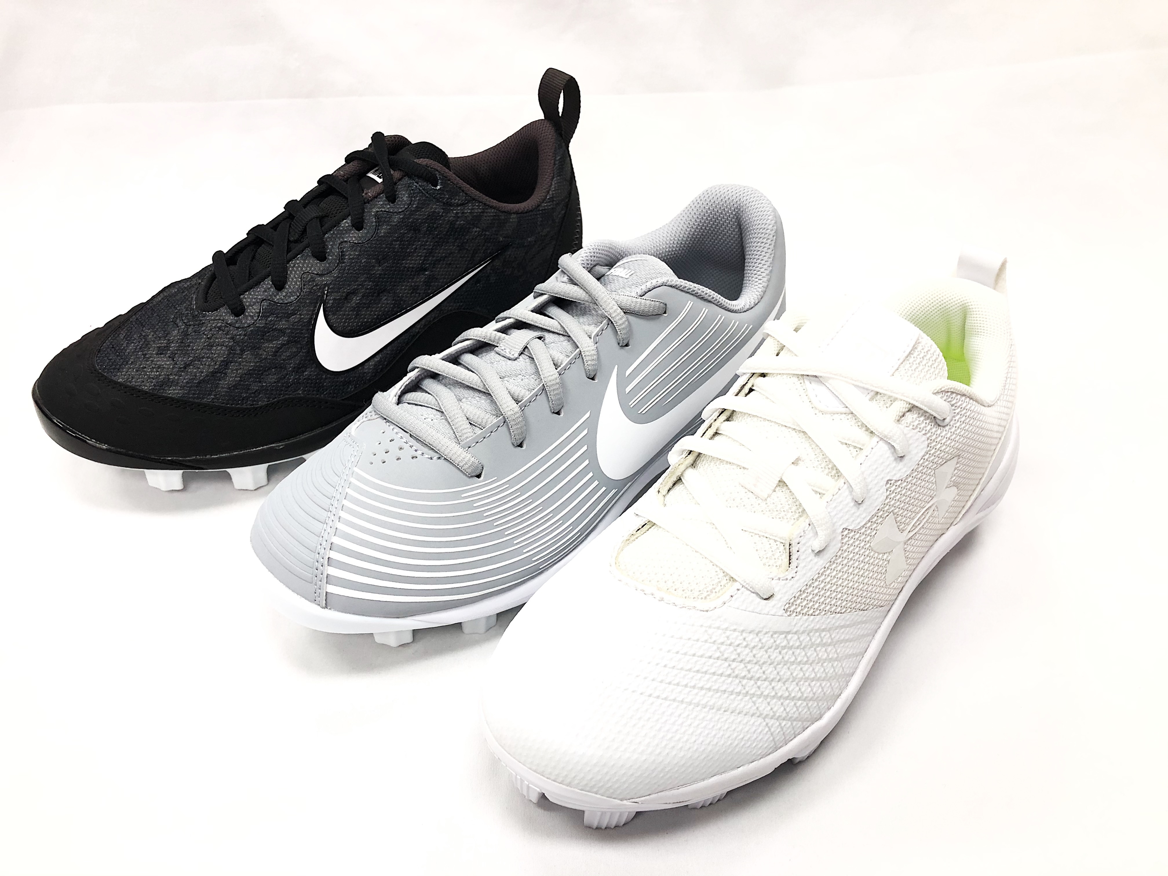 Nike & Under Armour Softball Cleats