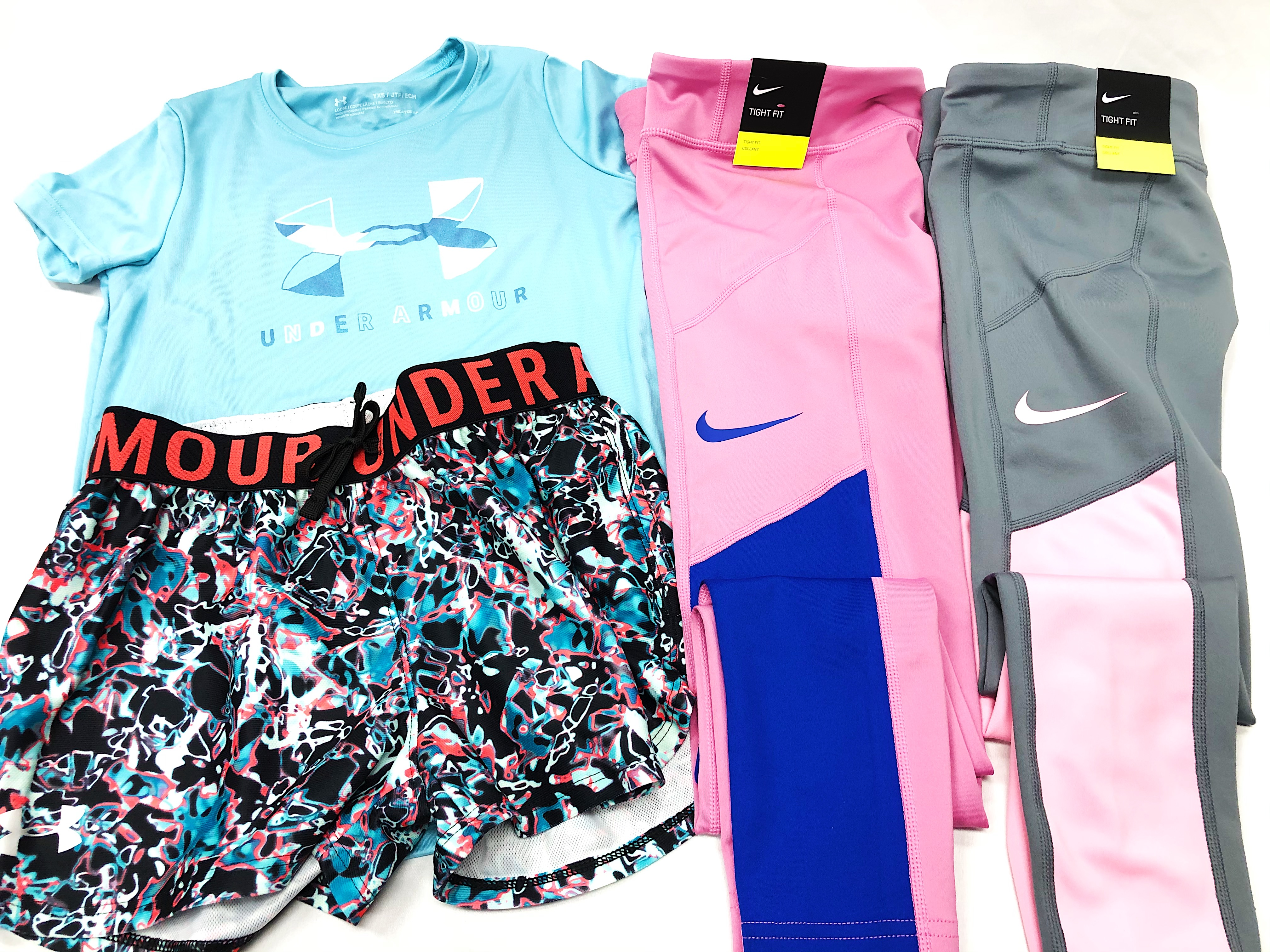 Nike & Under Armour Girls Apparel