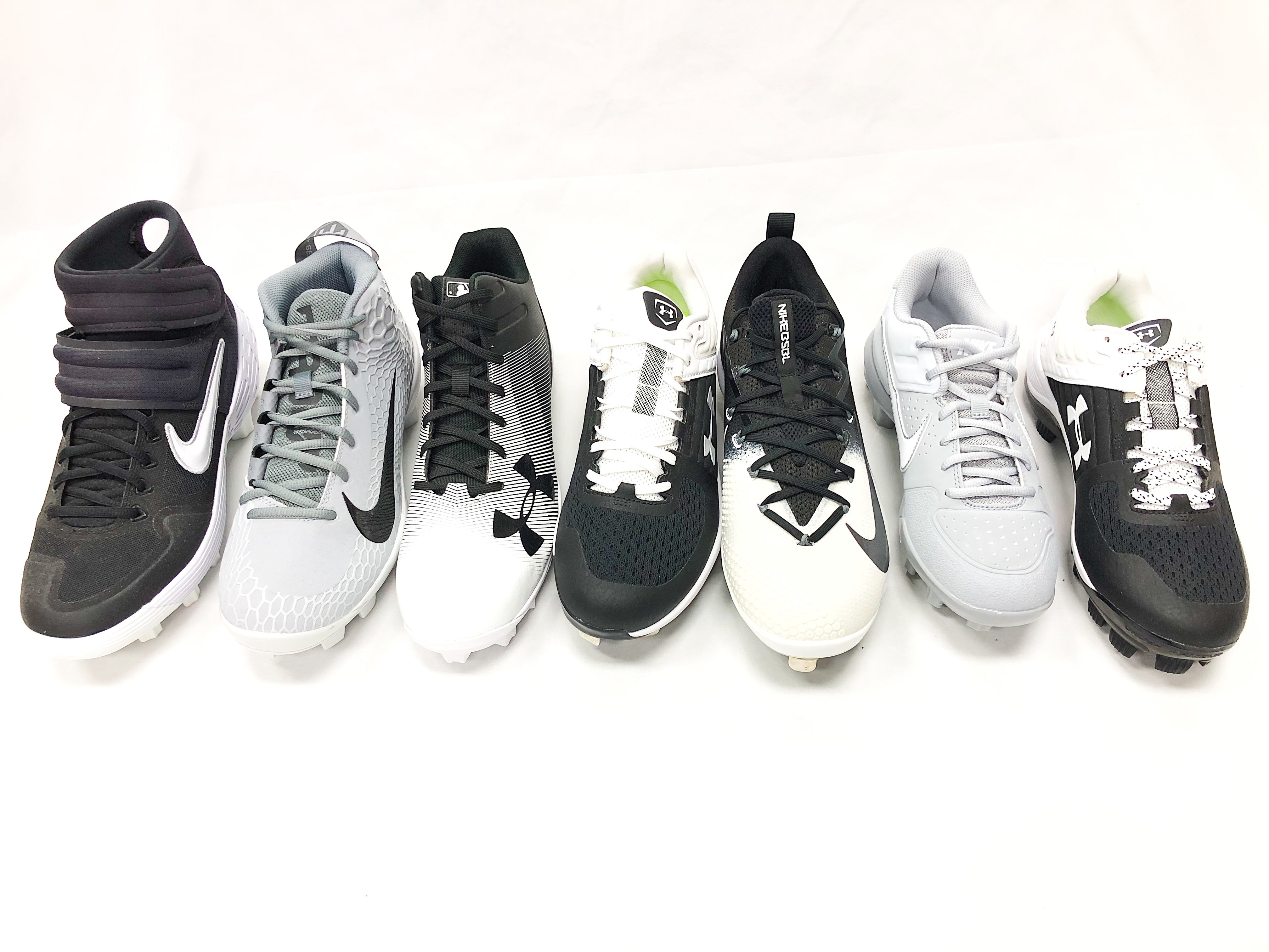 Nike & Under Armour Baseball Cleats
