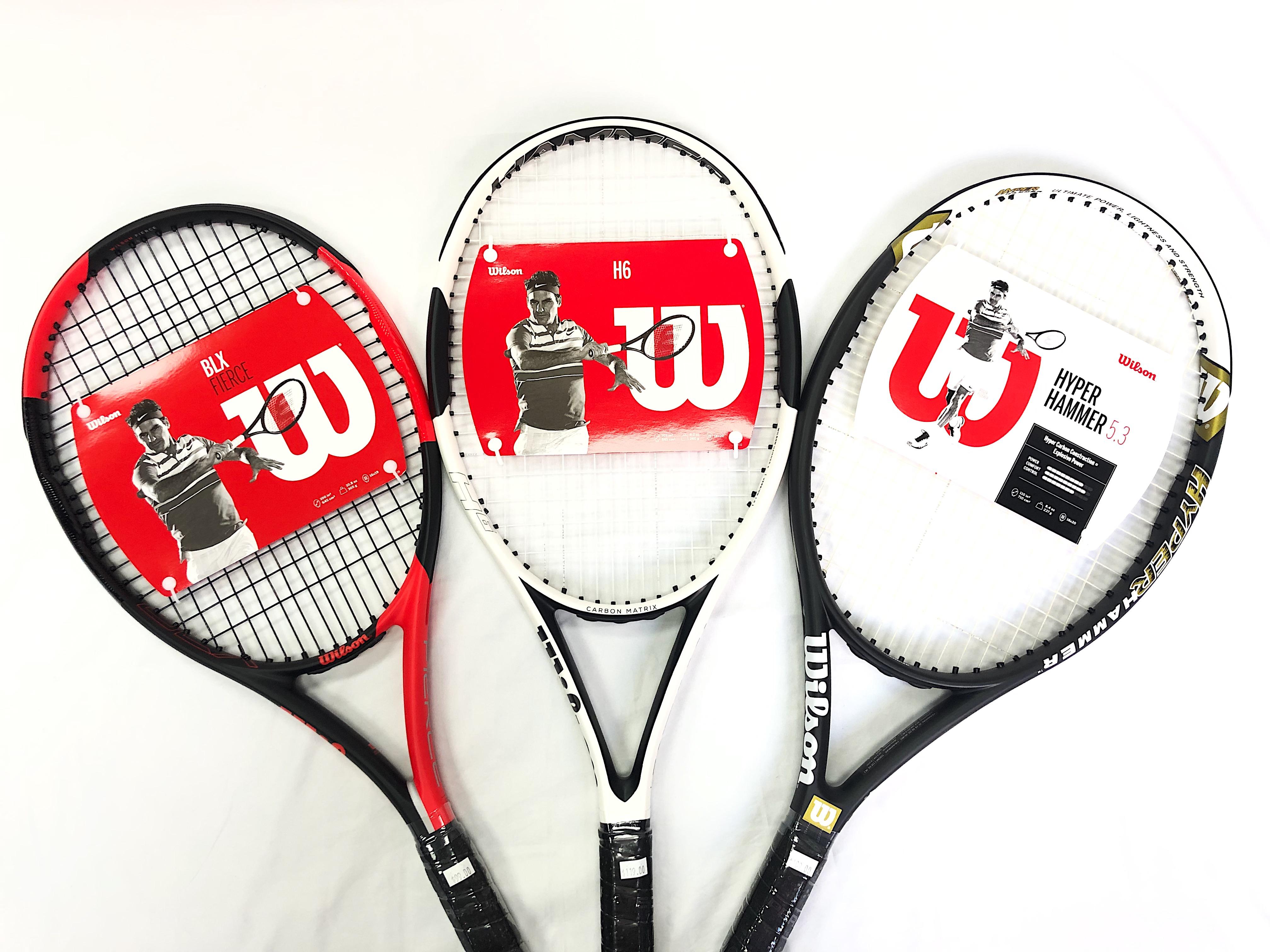 Wilson Tennis Rackets (Adult)