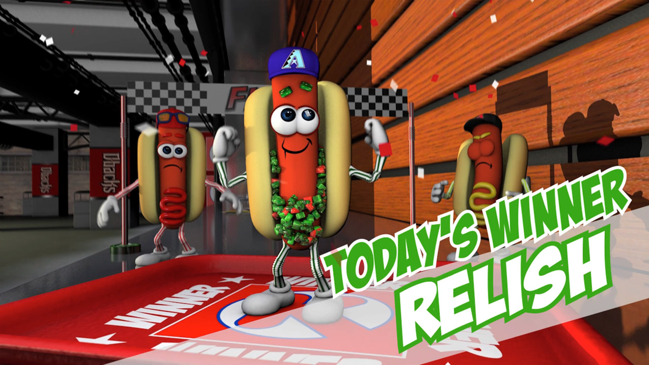 Arizona DiamondBacks Hot Dog Race