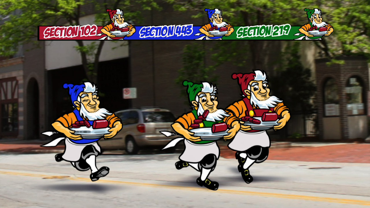 Usingers Sausage Race