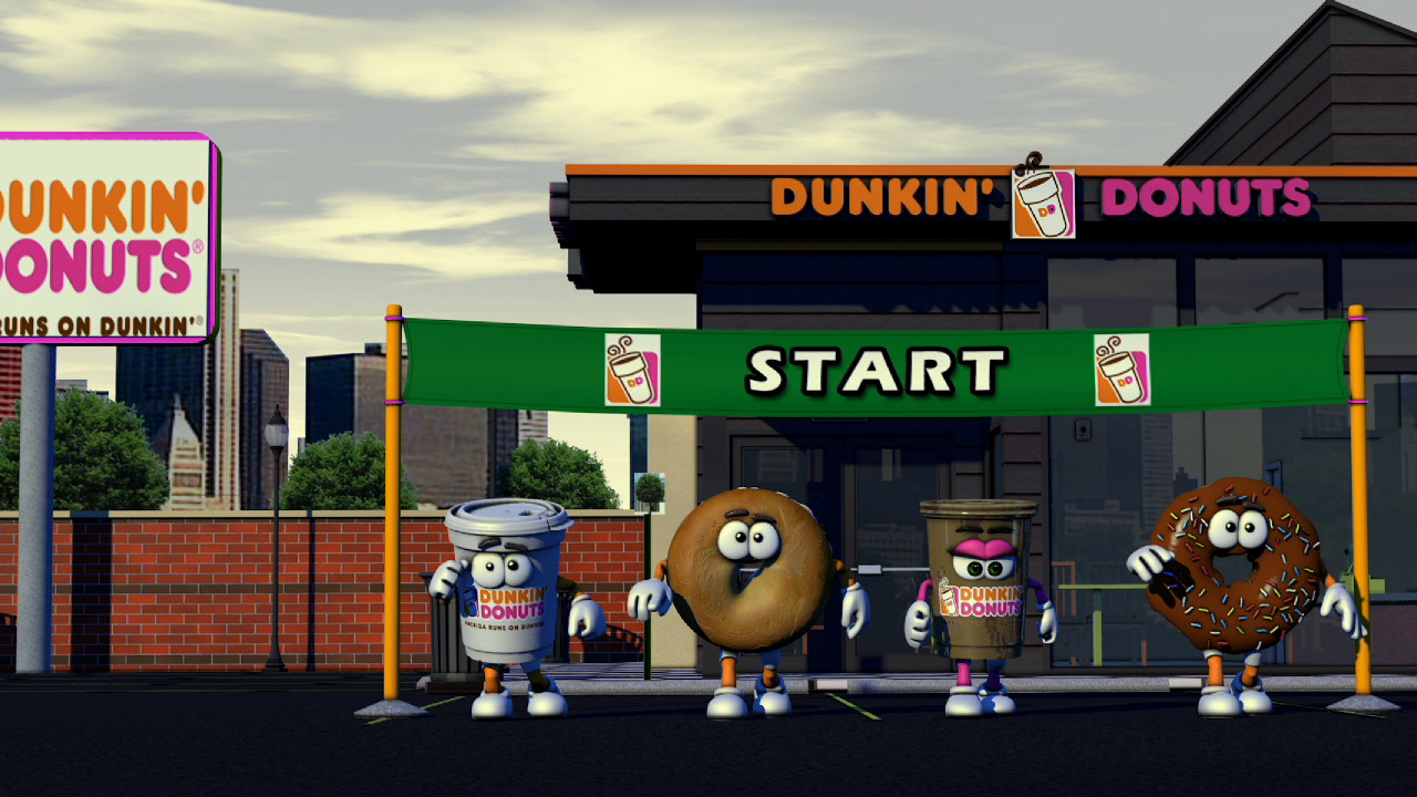 Dunkin Donuts race for Chicago Bears