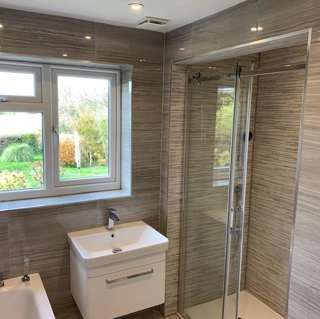 Luxury bathroom refubishment
