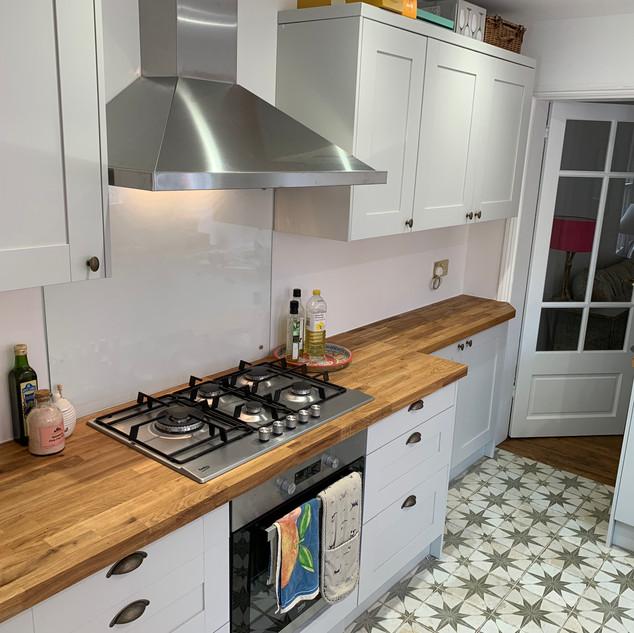 Kitchen and utility refurbishment