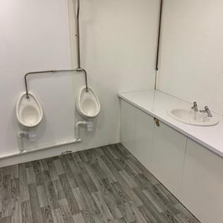Commerical toilet block