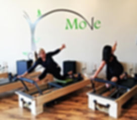 Duet Pilates Sessions in Bend Oregon at Move