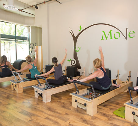 Pilates Equipment at Move Pilates and more in Bend, Oregon