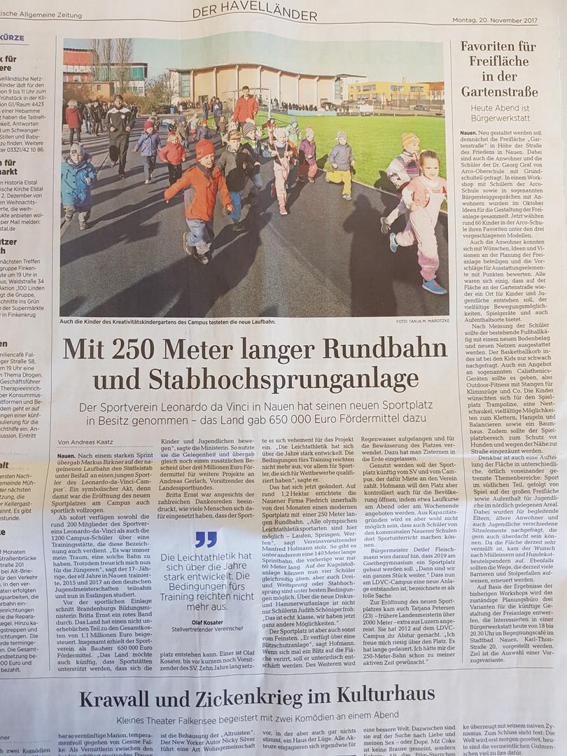 MAZ_Bericht_Sportplatzeröff._20.11.2017.