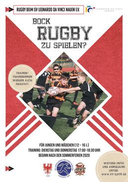 Rugby spielen!