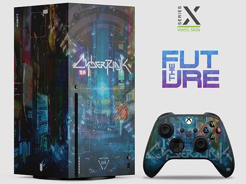The Future - Xbox Series X vinyl skin