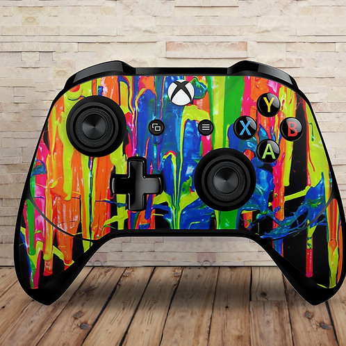 Paint Drips - Xbox One S/X controller vinyl skin