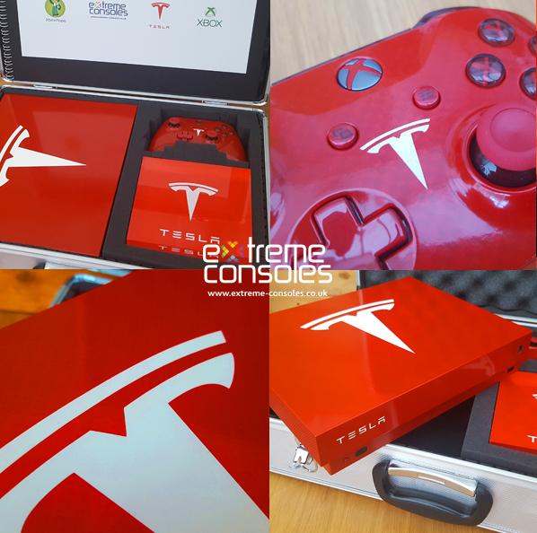 Tesla Xbox One X Console
