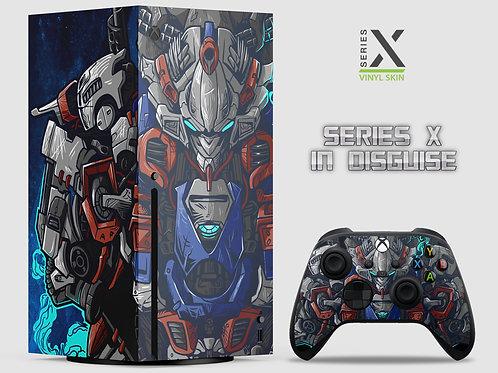 Prime Mech - Xbox Series X vinyl skin