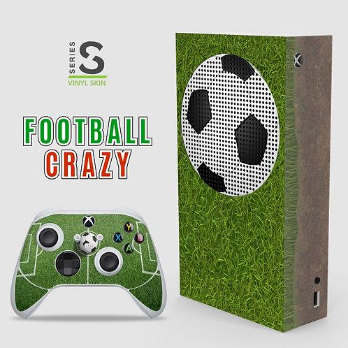 Football Crazy - Xbox Series S vinyl skin