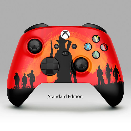 Cowboy Wild West - Xbox One custom controller
