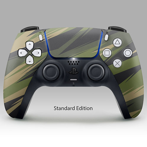 Zig Zag Camo  - PS5 DualSense custom controller