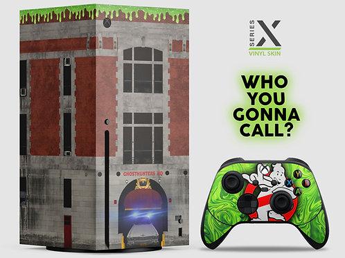 Ghost Hunters - Xbox Series X vinyl skin