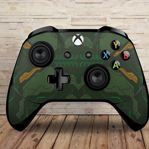 Spartan - Xbox One S/X controller vinyl skin