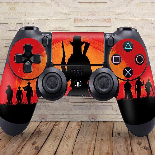 Cowboys - PS4 controller vinyl skin